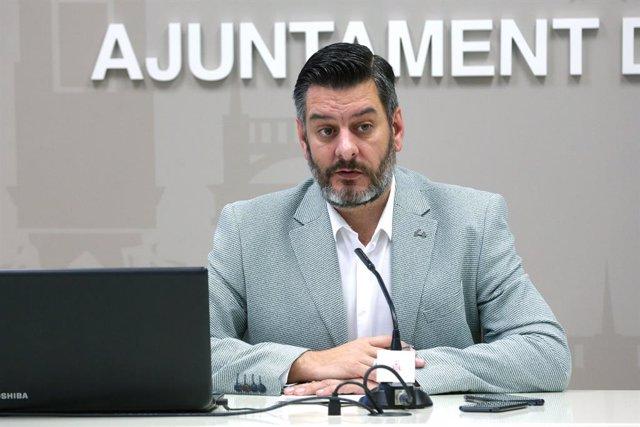 El regidor de l'Ajuntament de València Carlos Galiana.