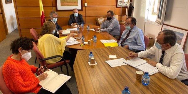 Reunión de Instituciones Penitenciarias para monitorizar la situación de la pandemia de Covid-19