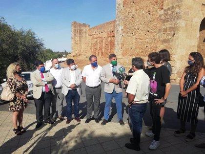 La Junta recuperará la Puerta del Agua y la Puerta del Buey de Niebla con una inversión de 550.000 euros