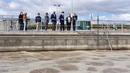 Puesta en funcionamiento de la nueva EDAR de Rueda, tras una inversión de más de 3,5 millones de euros