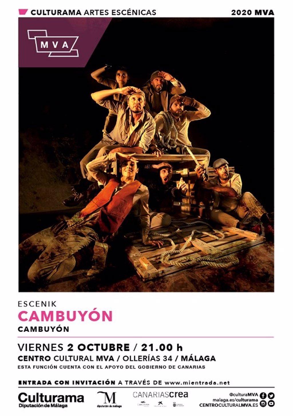 El centro cultural MVA de la Diputación de Málaga presenta un mes de octubre cargado de danza y teatro 2