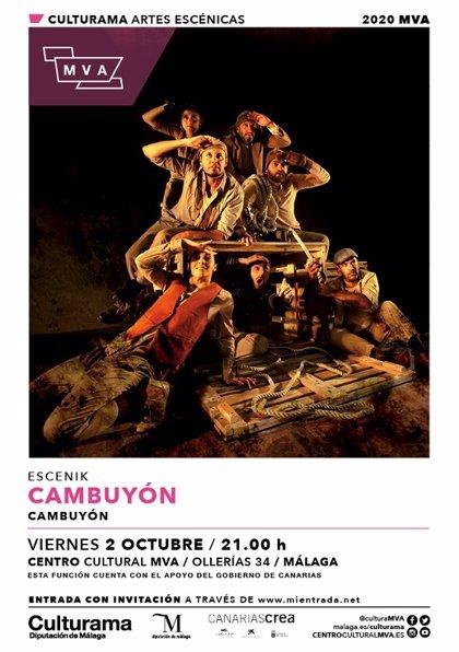 El centro cultural MVA de la Diputación de Málaga presenta un mes de octubre cargado de danza y teatro