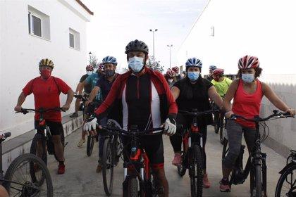 Diputación celebra una jornada empresarial cicloturista en El Granado (Huelva) en el marco del proyecto europeo Uaditurs