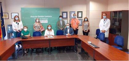 El Área Sanitaria Antequera (Málaga) firma un convenio con la AECC para acercar servicios de la asociación al hospital