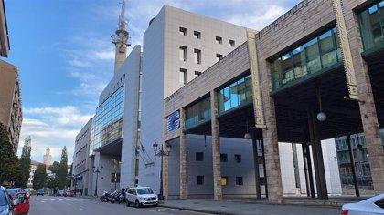 Las instalaciones de la Fiscalía en Oviedo, cerradas tras detectarse un caso de COVID-19