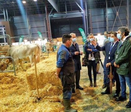 Calvo destaca que Agropec permite dar visibilidad y poner en valor al sector agroalimentario asturiano