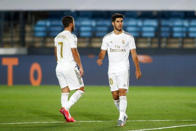 Fútbol.- Zidane viaja a Sevilla sin Hazard ni Asensio y recupera a Isco y Lucas