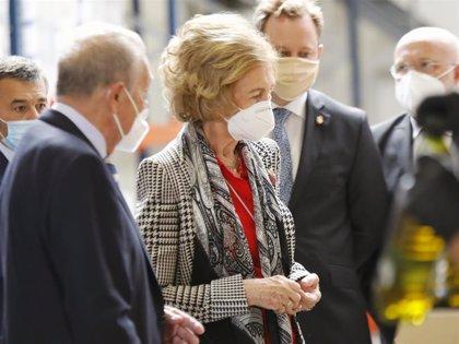 La Reina Sofía muestra su cara más solidaria en Albacete
