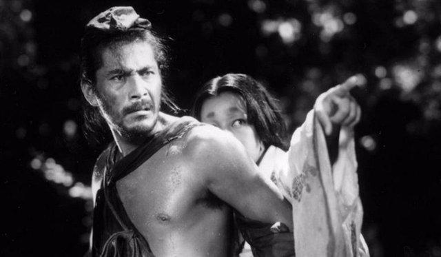 Imagen de la película Rashomon de Akira Kurosawa