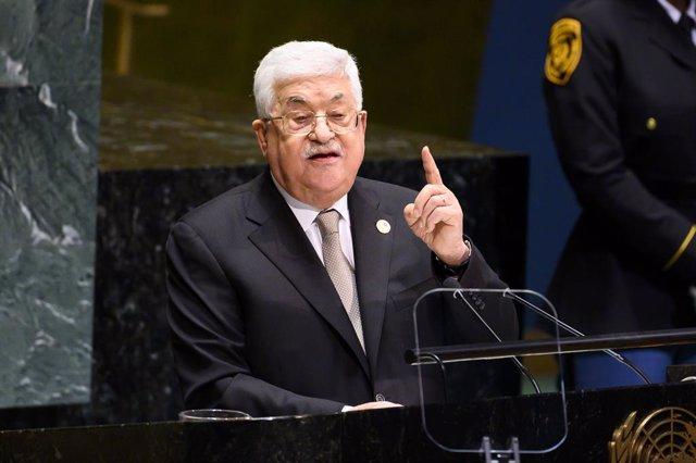 "O.Próximo.- Abbas aboga por una conferencia internacional a principios de 2021 """