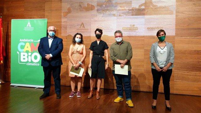 Entrega de premios del VIII Certamen Andaluz de Arte y Reciclaje Reciclar.