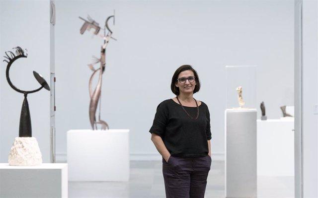 La nueva directora del Instituto de Valencia de Arte Moderno (IVAM), Nuria Enguita,