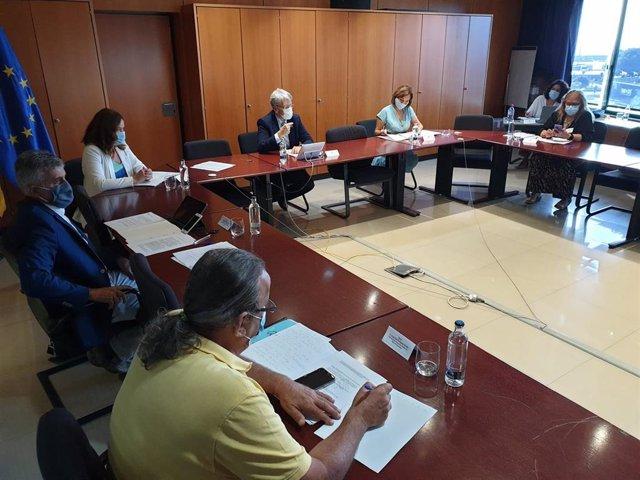Reunión de la comisión técnica de memoria histórica de Canarias