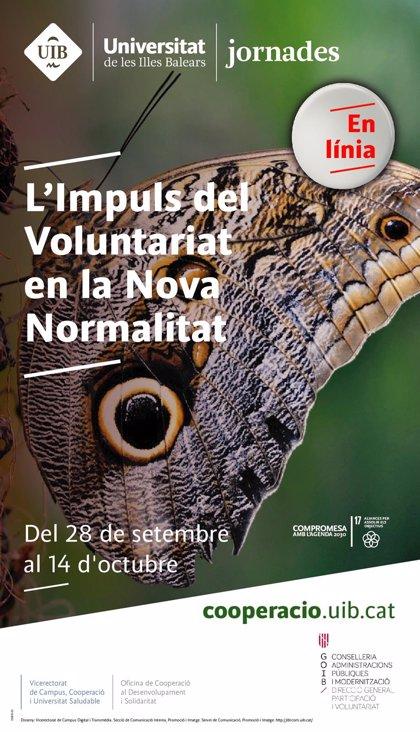 El Govern y la UIB organizan unas jornadas sobre el papel del voluntariado en la nueva normalidad