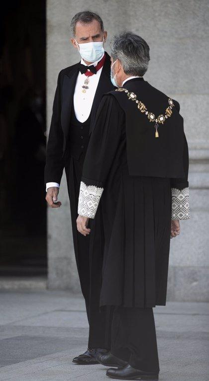 """Zarzuela dice que la llamada del Rey a Lesmes ha sido """"de cortesía"""" y """"sin consideraciones institucionales"""""""