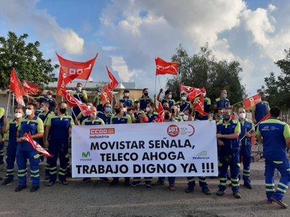 Desconvocan la huelga de Teleco tras el acuerdo en el Tamib y las mejoras de los salarios