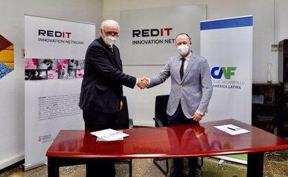CAF y REDIT firman un convenio para promover el desarrollo tecnológico en América Latina