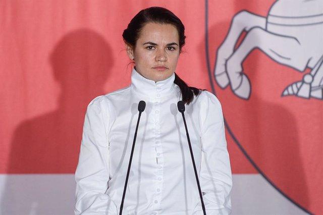 Bielorrusia.- Tijanovskaya llama a nuevas protestas en Bielorrusia tras la inves