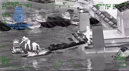 Desarticulado en Marbella (Málaga) un grupo criminal dedicado al tráfico de hachís en motos de agua