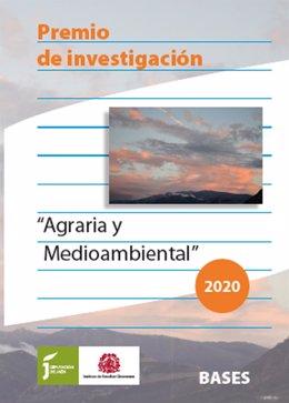Un trabajo sobre los poblados de colonización franquista, Premio de Investigación Agraria del IEG, de la Diputación de Jaén.