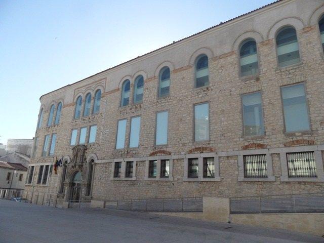 Exterior del albergue juvenil de Jaén