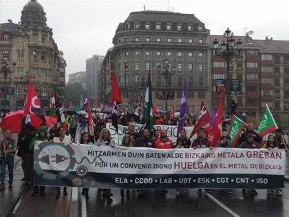 Caen un 91% las jornadas no trabajadas por huelga hasta mayo en Euskadi
