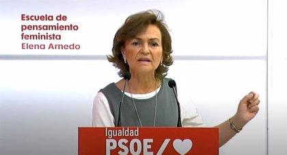 """Calvo: """"En el Congreso trataremos de avanzar por una ley que se plantea luchar contra la trata y la prostitución"""""""