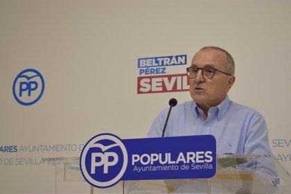 """PP de Sevilla critica incremento de botellonas y delincuencia en Santa Aurelia """"por dejación de funciones de Espadas"""""""