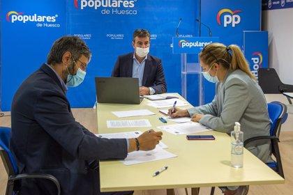 """El PP de Huesca muestra su preocupación por los """"recortes sociales"""" del Gobierno de Aragón en las Comarcas"""