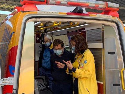 """Las ambulancias del Samur podrán realizar test de antígenos """"en 15 minutos y con gran fiabilidad"""""""