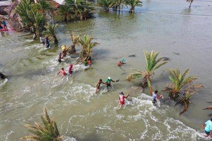 Los desastres naturales provocan casi 10 millones de desplazados en la primera mitad de 2020