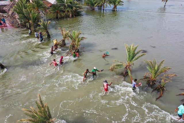 DDHH.- Los desastres naturales provocan casi 10 millones de desplazados en la pr