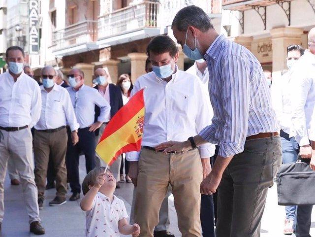 """Mañueco elogia a Felipe VI: """"Siempre ha desempeñado un papel vital en la recuper"""