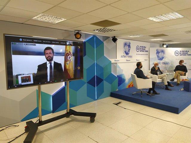 AMP.- Casado afirma que el PP llevará al Congreso la reprobación de Pablo Iglesi