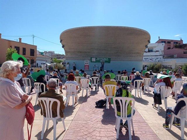 Acto en San Miguel de Salinas por la reversión del Hospital de Torrevieja