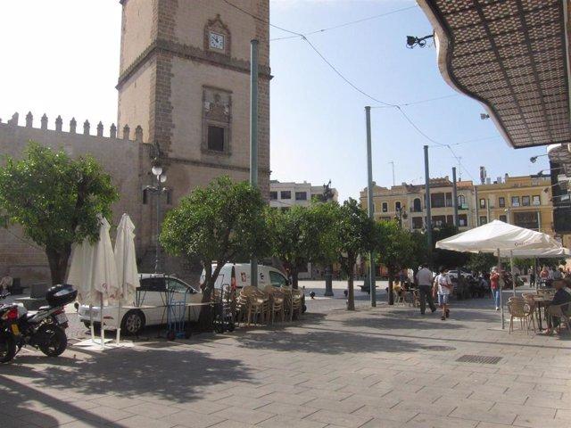 Veladores en Badajoz
