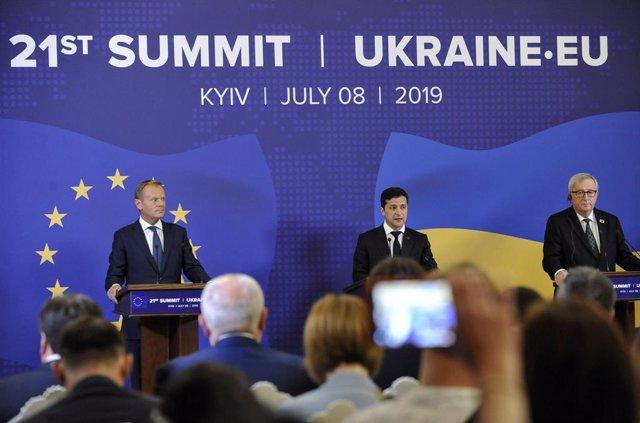 UE/Ucrania.- La UE y Ucrania pactan la celebración de una cumbre el 6 de octubre