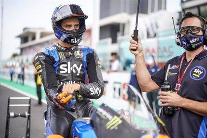 Marini y Arbolino brillan con récord de la pista en Moto2 y Moto3