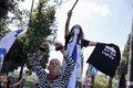 Miles de personas protestan en las calles de Israel contra Netanyahu