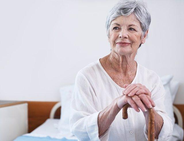 Alzheimer. Mujer mayor. Envejecimiento