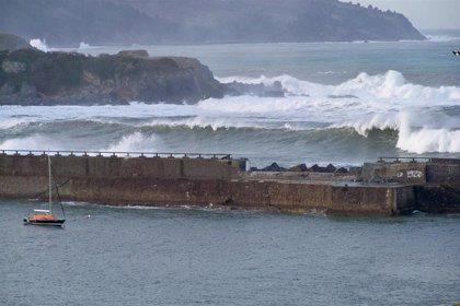 El temporal deja 67,4 l/m2 de lluvia en Berastegi (Gipuzkoa) y rachas de viento de 126,6 km/h en Matxitxako