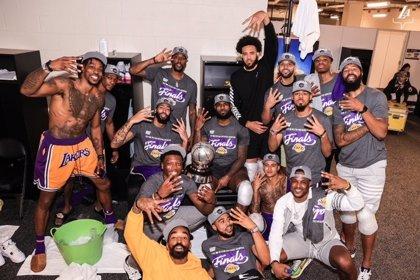 Los Lakers regresan a las Finales de la NBA diez años después