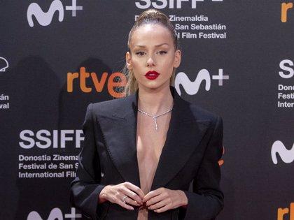 Ester Expósito, más sensual y elegante que nunca en el Festival de cine de San Sebastián