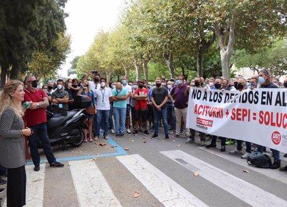 Mestre pide por carta al Gobierno explicaciones sobre el futuro de los trabajadores de Alestis en Cádiz