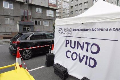 Galicia detecta 230 nuevos casos de COVID-19