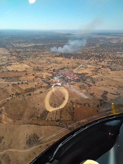 El Infoex ha intervenido en 14 incendios la última semana que han calcinado una docena de hectáreas de pasto