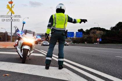 La Guardia Civil de Salamanca intensificará la vigilancia para reducir la siniestralidad vial en la provincia