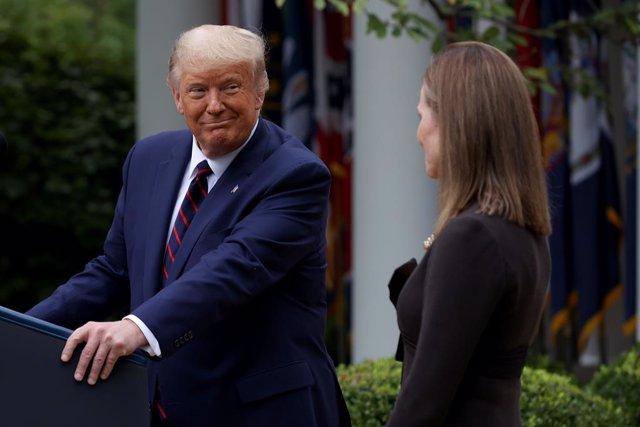 EEUU.- Trump espera que su candidata al Supremo devuelva a los estados las compe