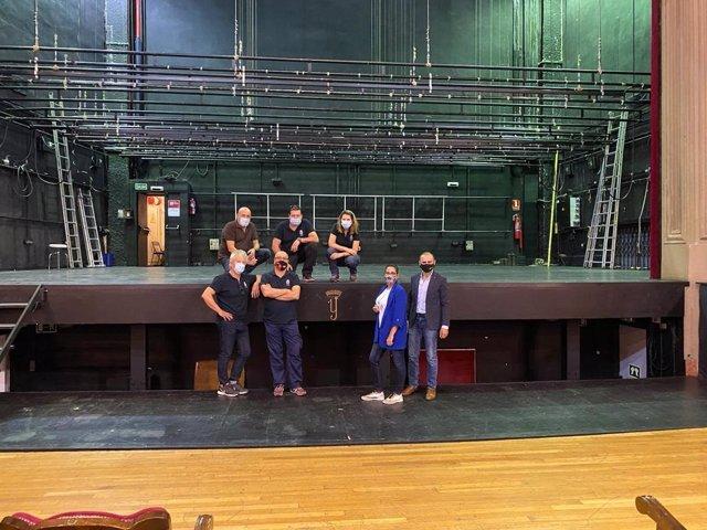 El Ayuntamiento de Granada activa el protocolo preventivo en el Teatro Isabel la Católica