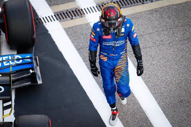 "Fórmula 1/GP Rusia.- Sainz: ""Ha sido un error mío"""